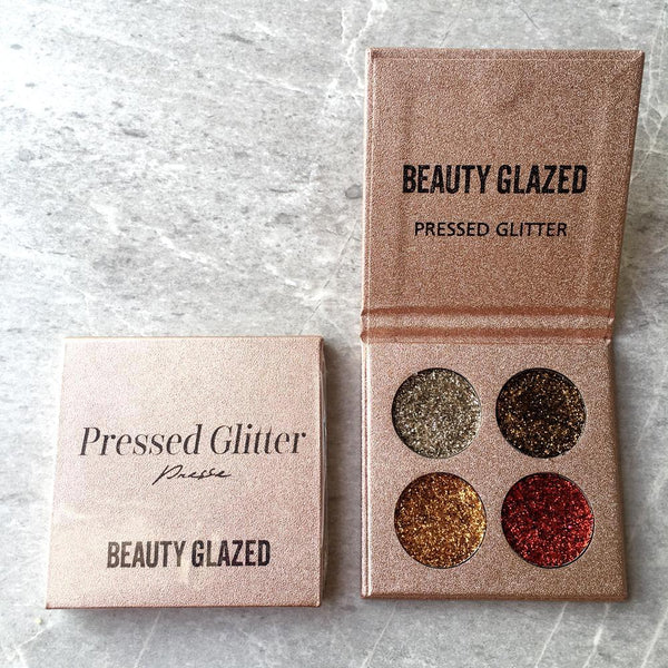 LD Pretty eye Glitter Eyeshadow Brand Palette High Pigments