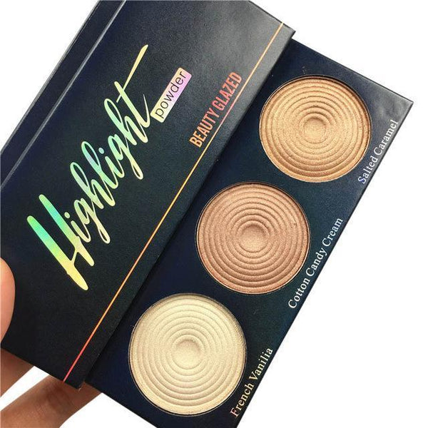 LD Pretty Face brush A2 3 IN 1 beauty glazed Eye Shadow highlighter
