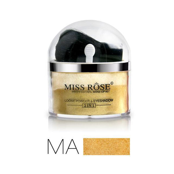 LD Pretty loose Gold powder Miss Rose Loose Shimmer Glitter