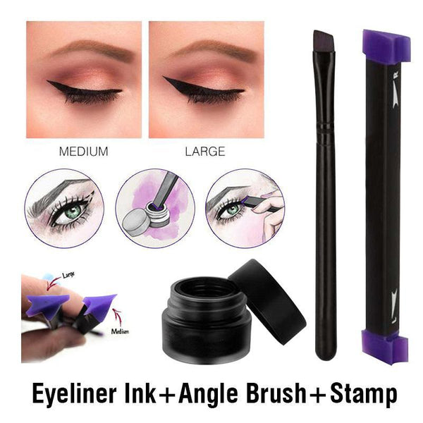LD Pretty Perfect Winged Eyeliner Vamp Stamp