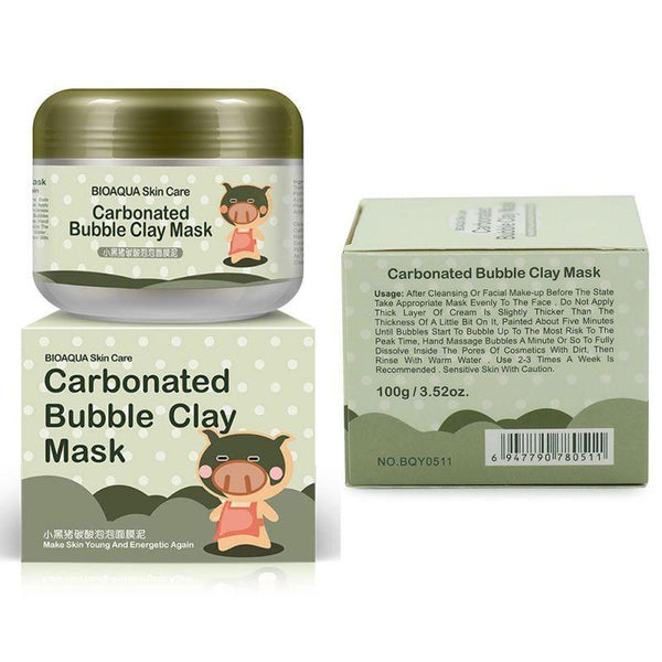 LD Pretty skin care Carbonated Bubble Clay Mask Mud Moisturizing Skin Care
