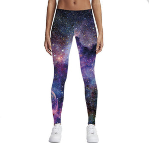 legging yoga galaxie