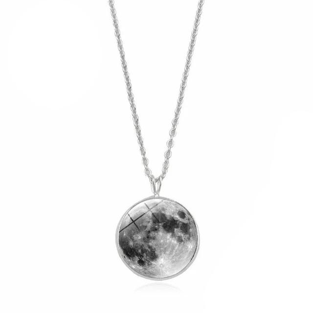 Collier lune brillante - Lolassana - Full Moon Yoga