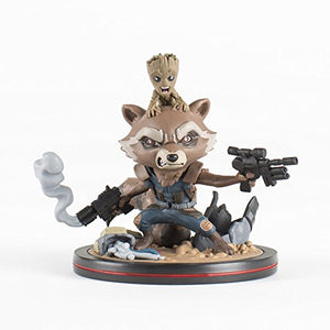 QMx Rocket & Groot Q-Fig Diorama