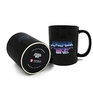 Official Ready Player One Logo Heat Changing Mug