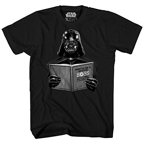 Star Wars Darth Vader Dark Side Empire Funny Humor Pun Adult Men's Graphic Tee T-Shirt