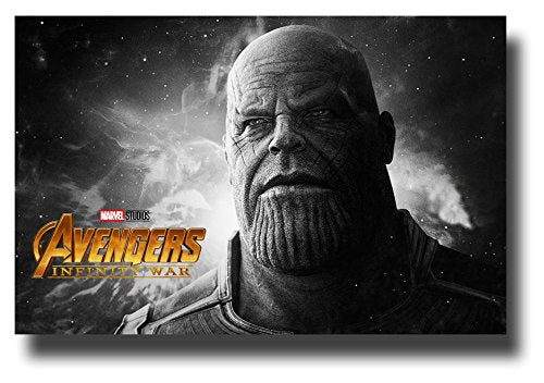 Thanos Poster Movie Promo for Avengers Infinity War 11 x 17 inches wide