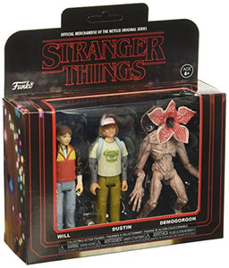 Funko Stranger Things 3PK-Pack 2 Collectible Action Figures
