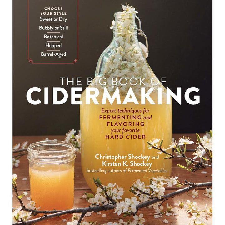 «The Big Book of Cidermaking» par Christopher Shockey et Kirsten K. Shockey