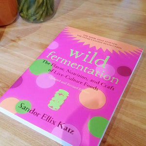 Photo du livre Wild Fermentation