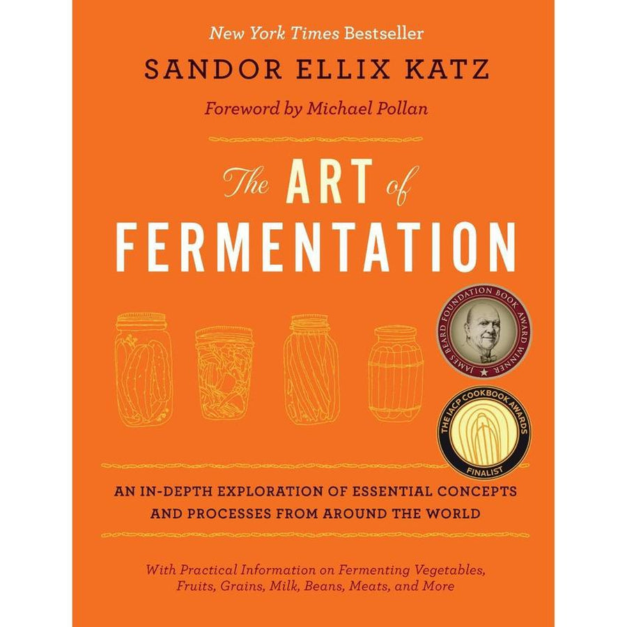 Couverture du livre The Art of Fermentation par Sandor Ellix Katz