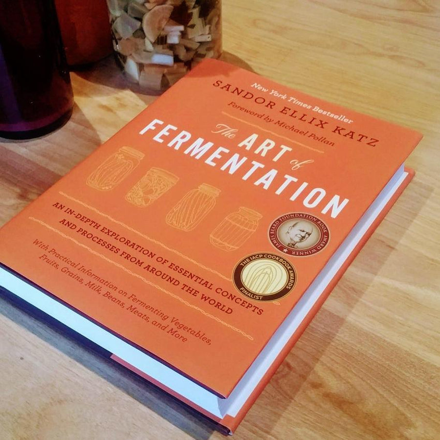 Photo du livre The Art of Fermentation par Sandor Ellix Katz