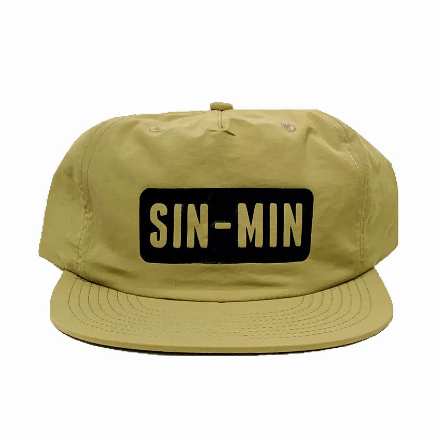 SIN-MIN Layback Hat *limited run*