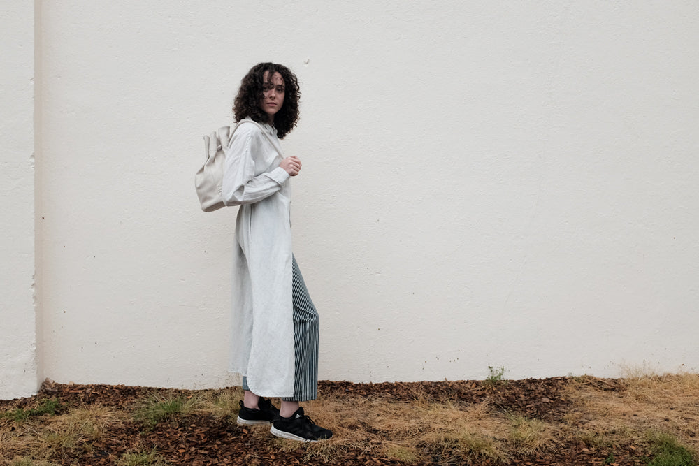 Ethical clothing from Kowtow, Gravel and Gold. Accessories from Are apparel