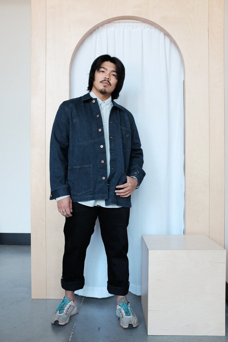 Glenn's Denim Chore Coat
