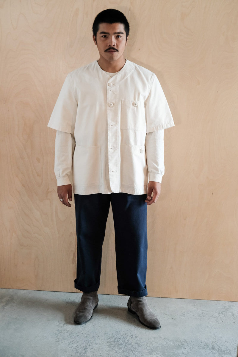 Short Sleeve Utility Jacket