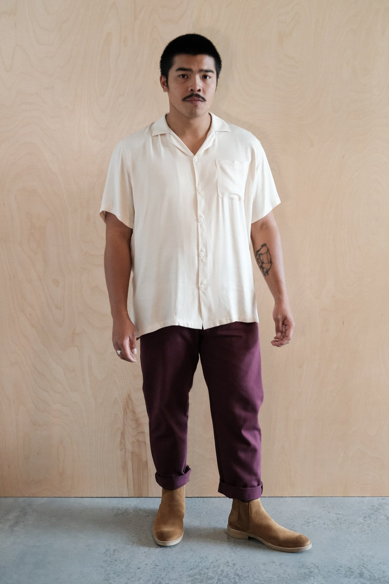 Atlas Trouser Crimson