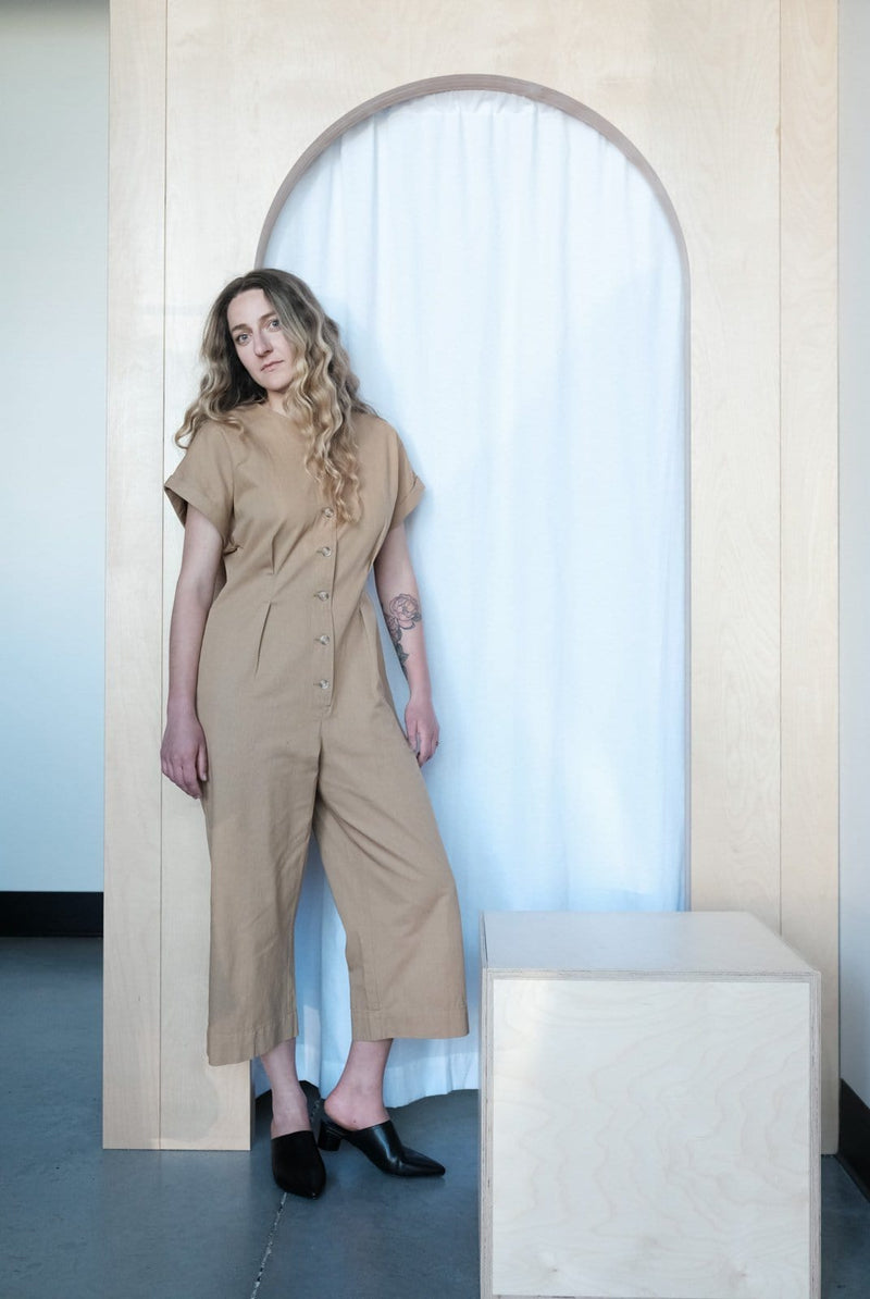 Les Jumpsuit Golden