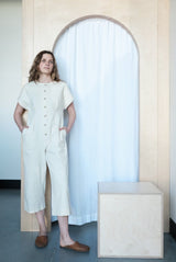 Les Jumpsuit Cream