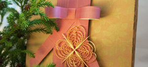 Eco Gift Wrap Tip: Turn Scraps Into Paper Ribbons