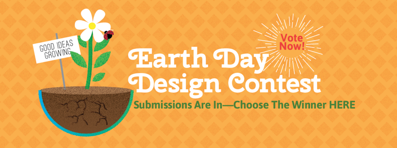 Earth Day Design Contest: Let The Voting Begin!
