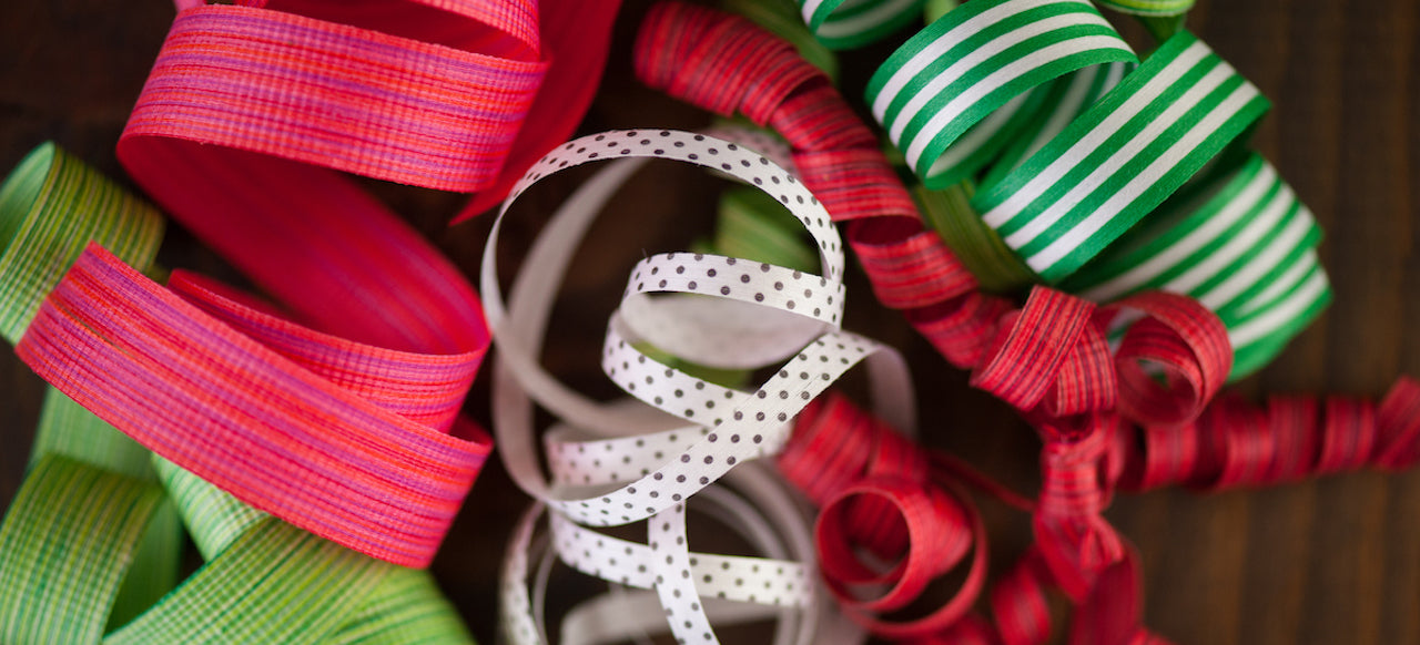 New in the shop: Cream City Curling Ribbon