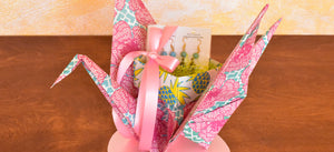 Mother's Day Origami Crane Gift Wrapping Tutorial by Paper Guru