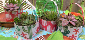 Versatile DIY Paper Basket For Gifts & More