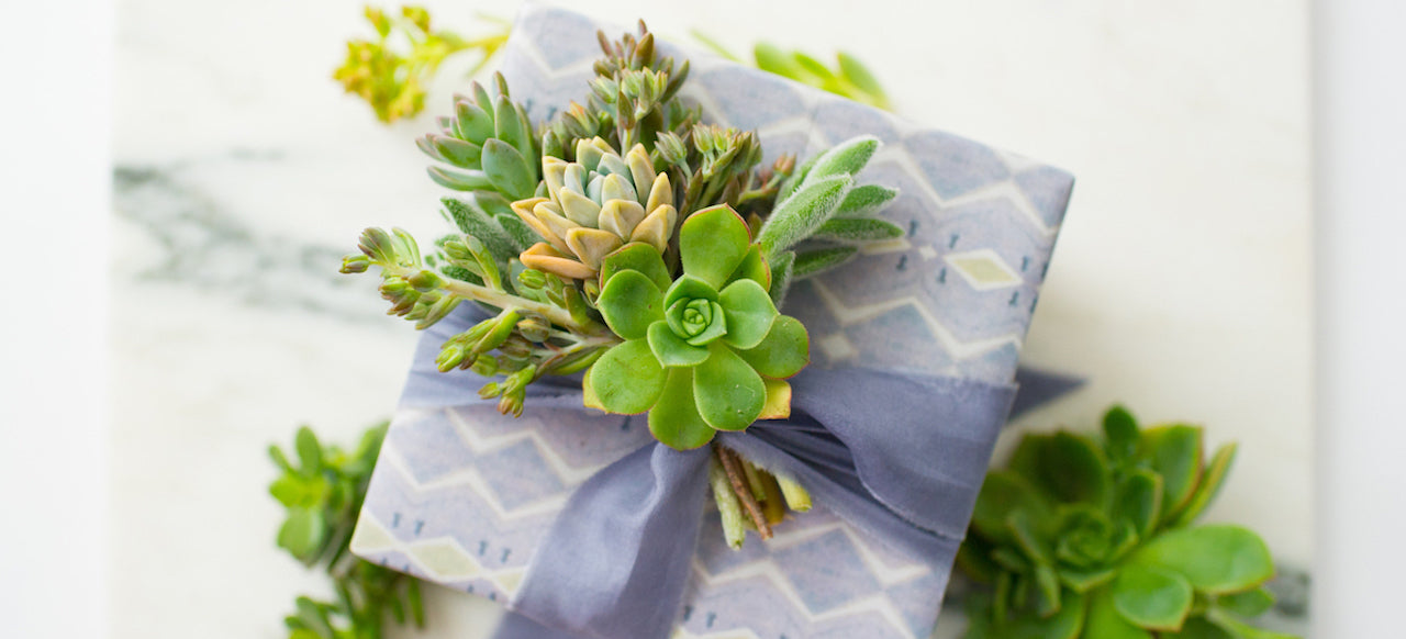 Gift Wrapping Inspiration: Fresh From The Garden
