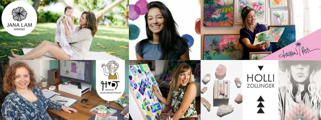 Wrapping Paper Designers - Support Artists from around the World