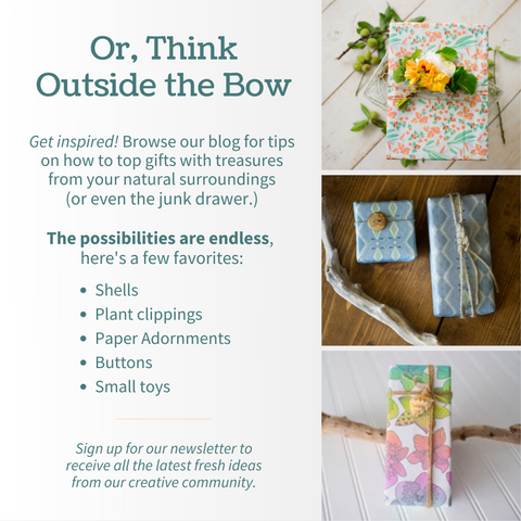 Gift Wrapping Ideas that are cute, fun, and eco-friendly