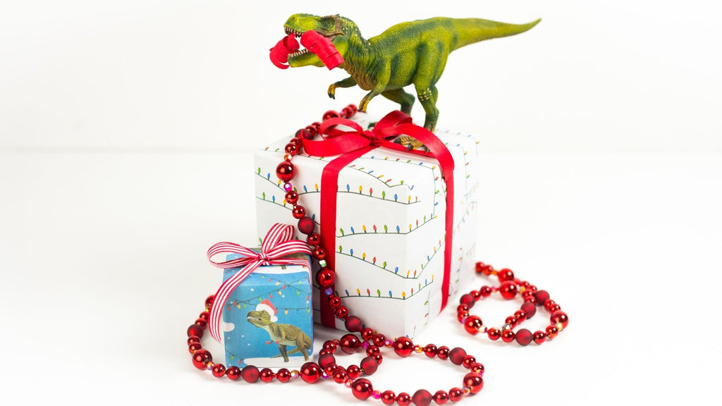 Dinosaur toys - Kids Gift wrapping Ideas