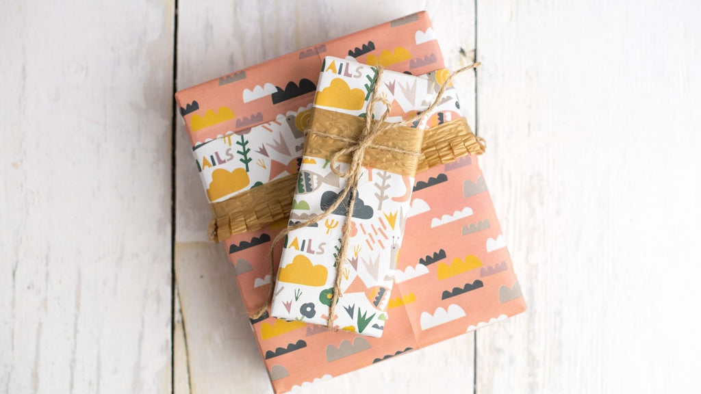 Gift Wrapping Ideas for Kids - Fringed ribbon