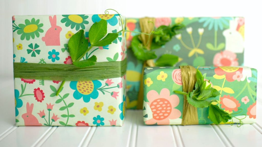 Garden Gift Wrapping Ideas for Kids