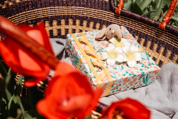 baby gift wrapping idea