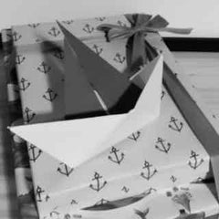 Gift Wrapping for Kids and Baby - Sailboat Gift Topper