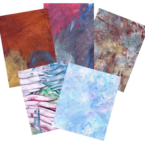 Noah's Textured Paintings - Two Can Art Eco-Friendly Wrapping Paper