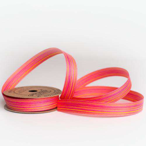 Coral Chambray - Cotton Curling Ribbon