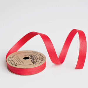 Solid Red - Cotton Curling Ribbon