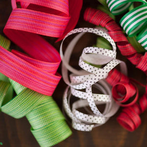 Berry Chambray - Cotton Curling Ribbon