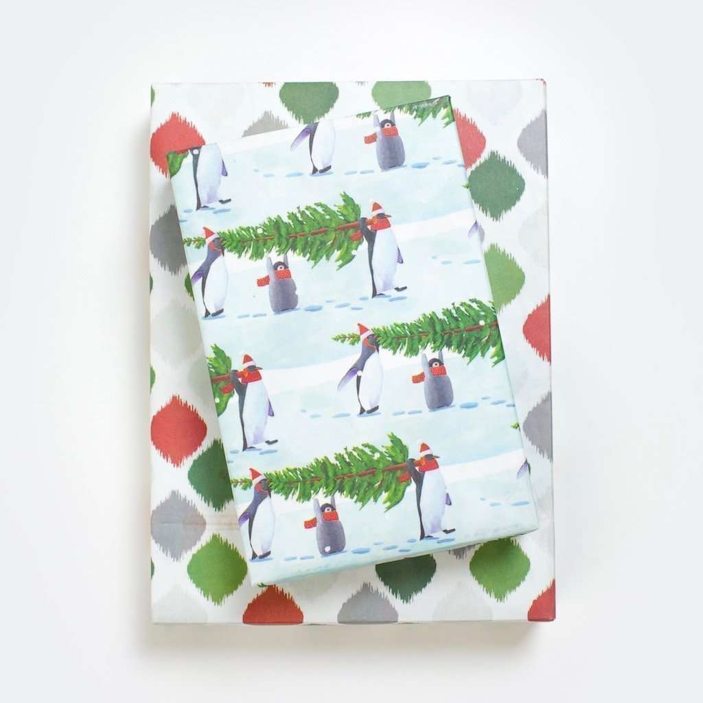 Allport Editions - Penguin Trees 3 Pack