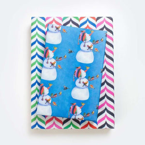 Allport Editions - Snowman and Birds 3 Pack