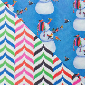 Snowman and Birds By Allport Editions