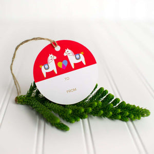 Yuletide Cheer Gift Tags - Set of 12