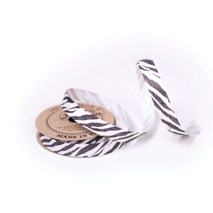 Zebra - Cotton Curling Ribbon