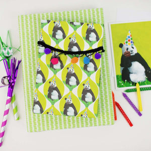 Panda Loves Cake By Allport Editions