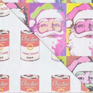 Warhol Santa by Allport Editions