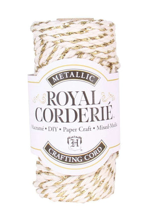 Cream & Gold - Recycled Cotton Chunky Cord