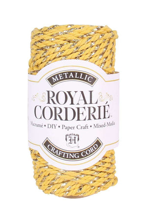 Yellow & Gold - Recycled Cotton Chunky Cord