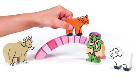 The Billy Goats Gruff Wooden Toys